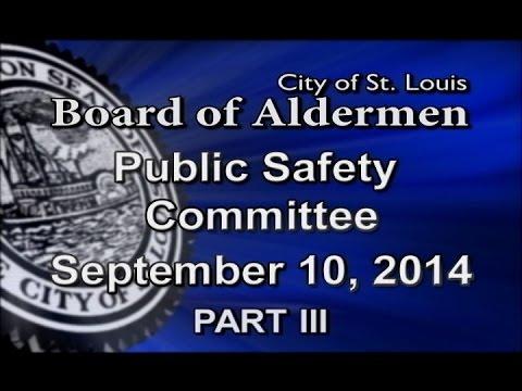 Public Safety - September 10, 2014 - Part 3