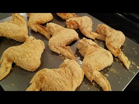 Simple & Easy Oven Fried Chicken