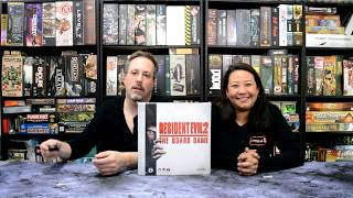Resident Evil 2 The Board Game Unboxing