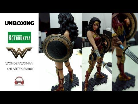 Unboxing : Kotobukiya ARTFX 1/6 Scale Statue  Wonder Woman