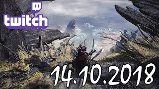 Stream vom 14.10.2018 – Monster Hunter World