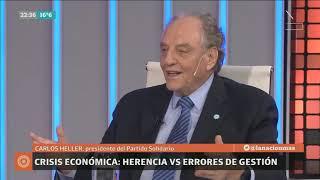 30-04-2019 - Carlos Heller en LN+ – Odisea Argentina, con Carlos Pagni #Política #FMI #Elecciones