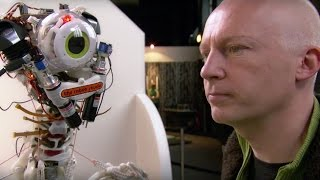 "The Robot With a ""Human"" Body - The Hunt for AI - BBC"