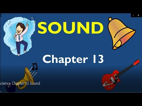 Sound Class 8 Notes, Question Answers, Explanation | CBSE Class 8