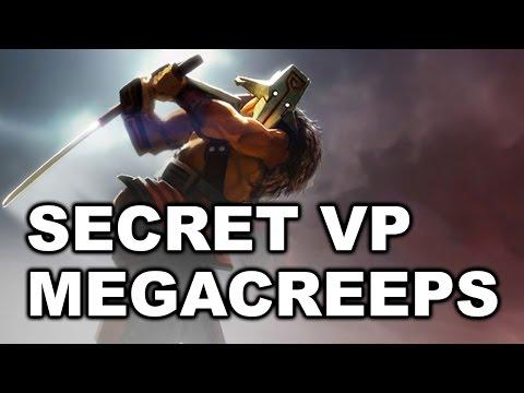 SECRET vs VP - Megacreeps Rapiers Comeback! EPICENTER Dota 2