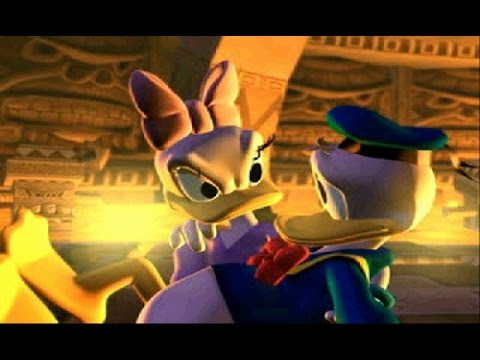 Pato Donald | Quack Attack! | Full Movie Game Completo | Don