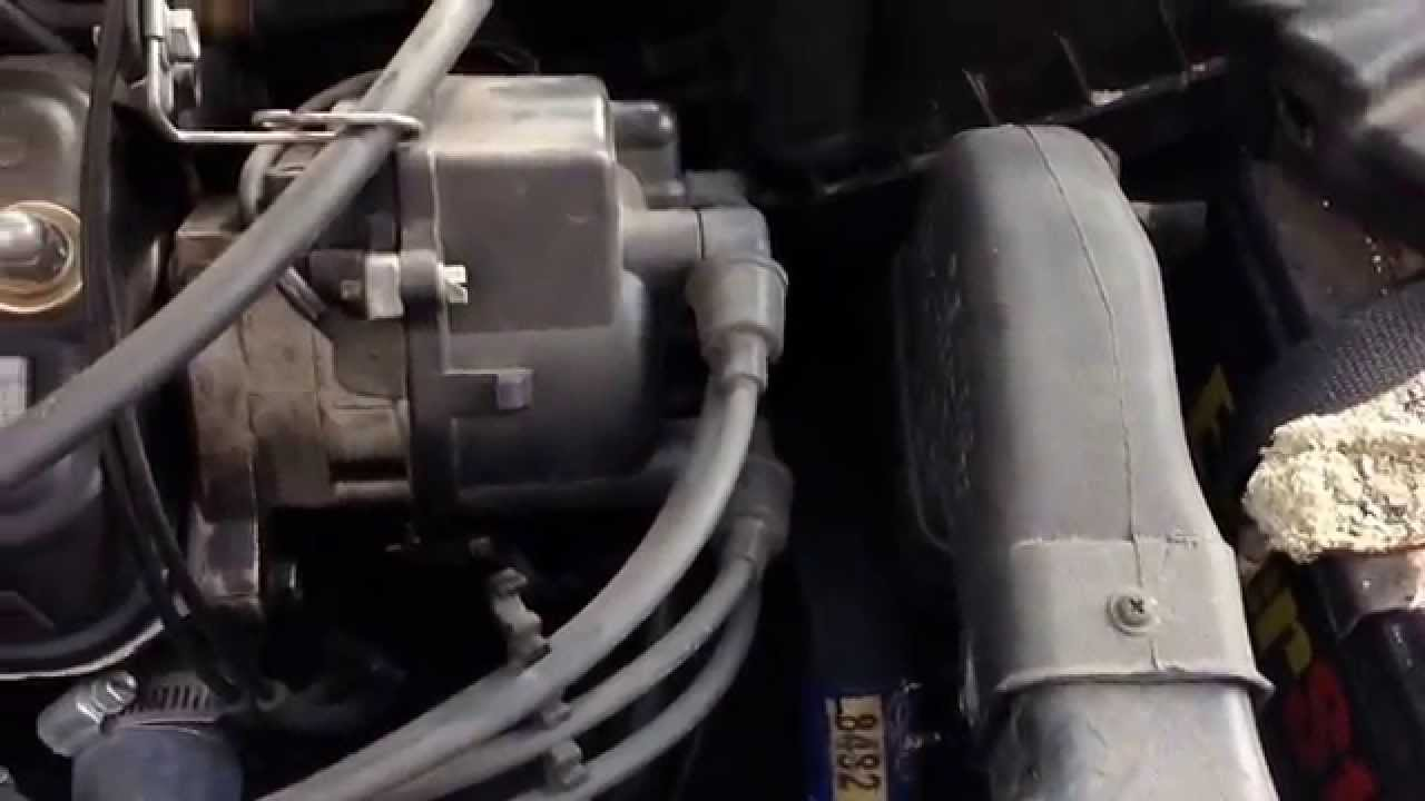 1994 Toyota Camry Engine Diagram Rockford T1 Wiring 1992 Tercel Rough Idle Change Coolant Temperature Sensor. - Saturday Projects Youtube