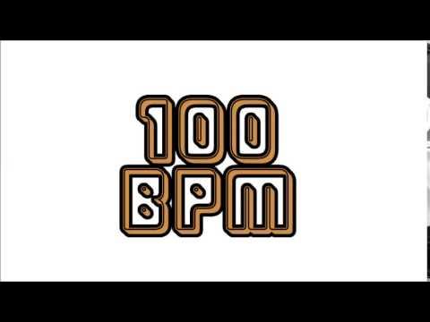 Metronome 100 BPM Eighth Note メトロノーム テンポ100 8分音符
