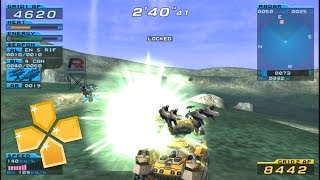 Armored Core Formula Front Extreme Battle PPSSPP Gameplay Full HD / 60FPS