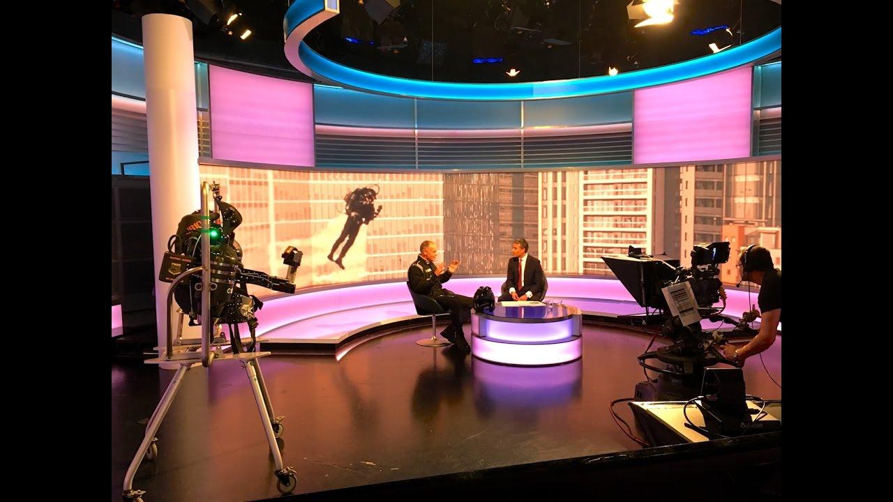 London JetPack on BBC World News Global with Matthew Amroliwala 2016.10.06