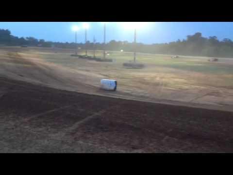 Warren Arkansas Speedway sport mod race 8-10-13