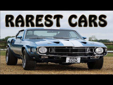 7 of the Rarest American Cars Ever Built
