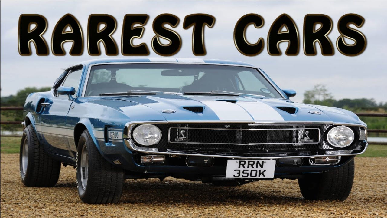 Rarest muscle cars