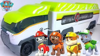 UNBOXING PAW PATROL JUNGLE PATROLLER WITH RYDER CHASE MARSHALL EVEREST ROCKY ZUMA RUBBLE & TRACKER