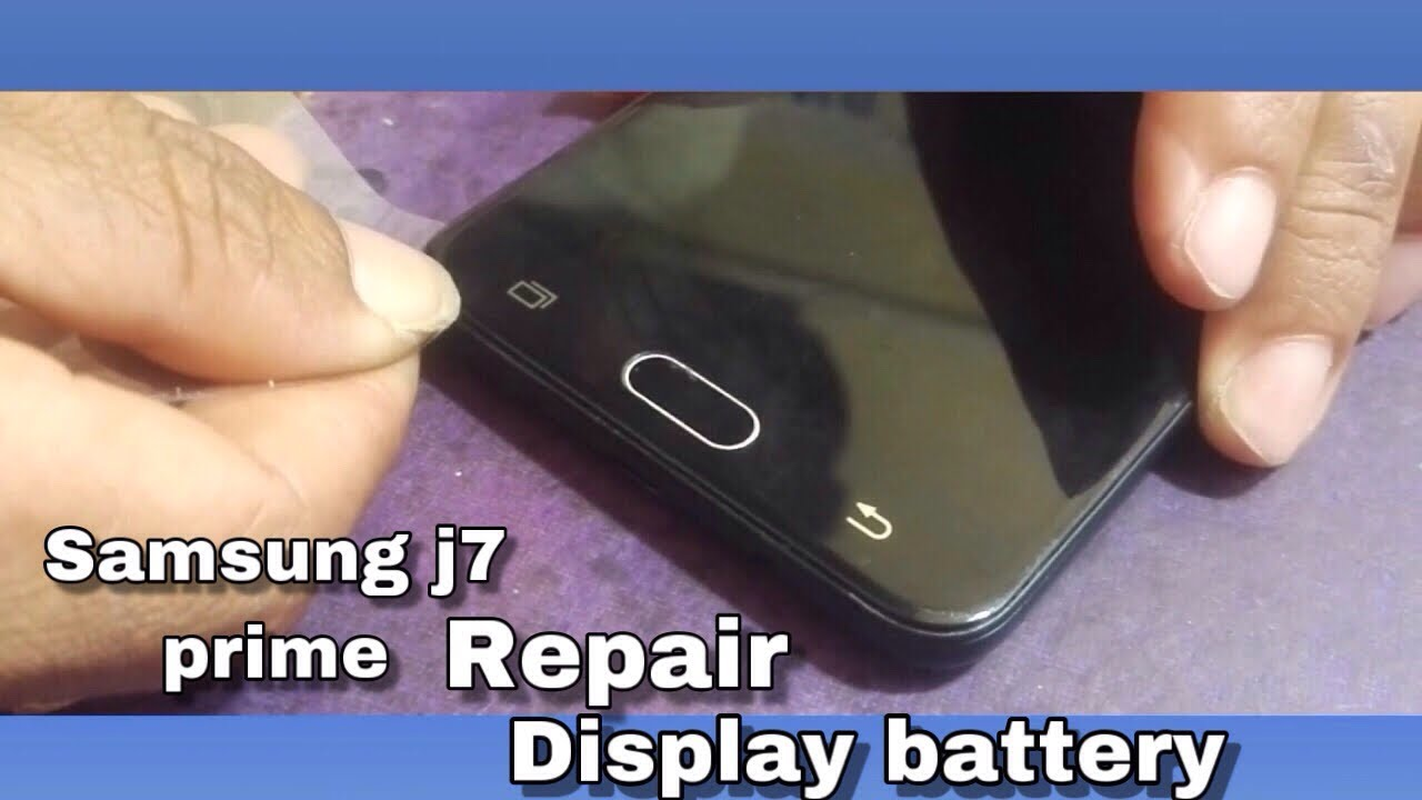 size 40 37c22 febec (2019) Samsung galaxy J7 Prime Teardown How to open back panel Display  Change Battery