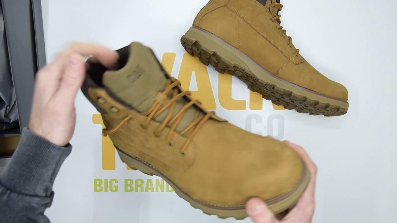 956dd6ed5 Caterpillar Intake (Wide) - Bronze Brown - Unboxing | Walktall - YouTube