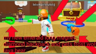 Roblox magnet simulator part 4: playing Magnet simulator with ironninjareal