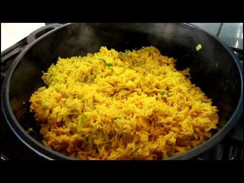 Jamaican Spicy Curry Rice Recipe