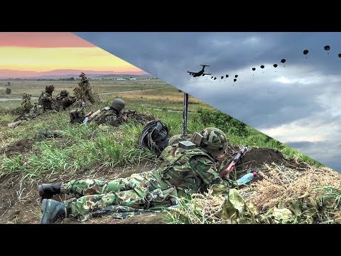 US Paratroopers Seize Airfield In Bulgaria – Joint Forcible Entry Operation Exercise