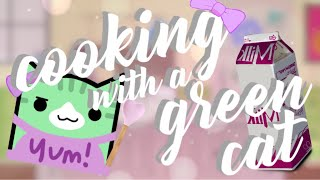 COOKING WITH A GREEN CAT | Geometry Dash Juniper