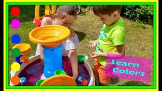 Kids Fun Learn Colors with Balls