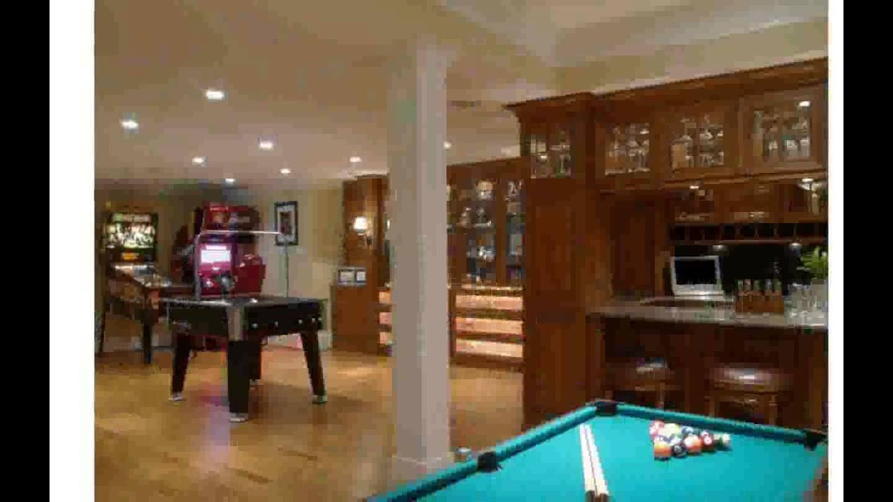 Billiard Room Decor - YouTube