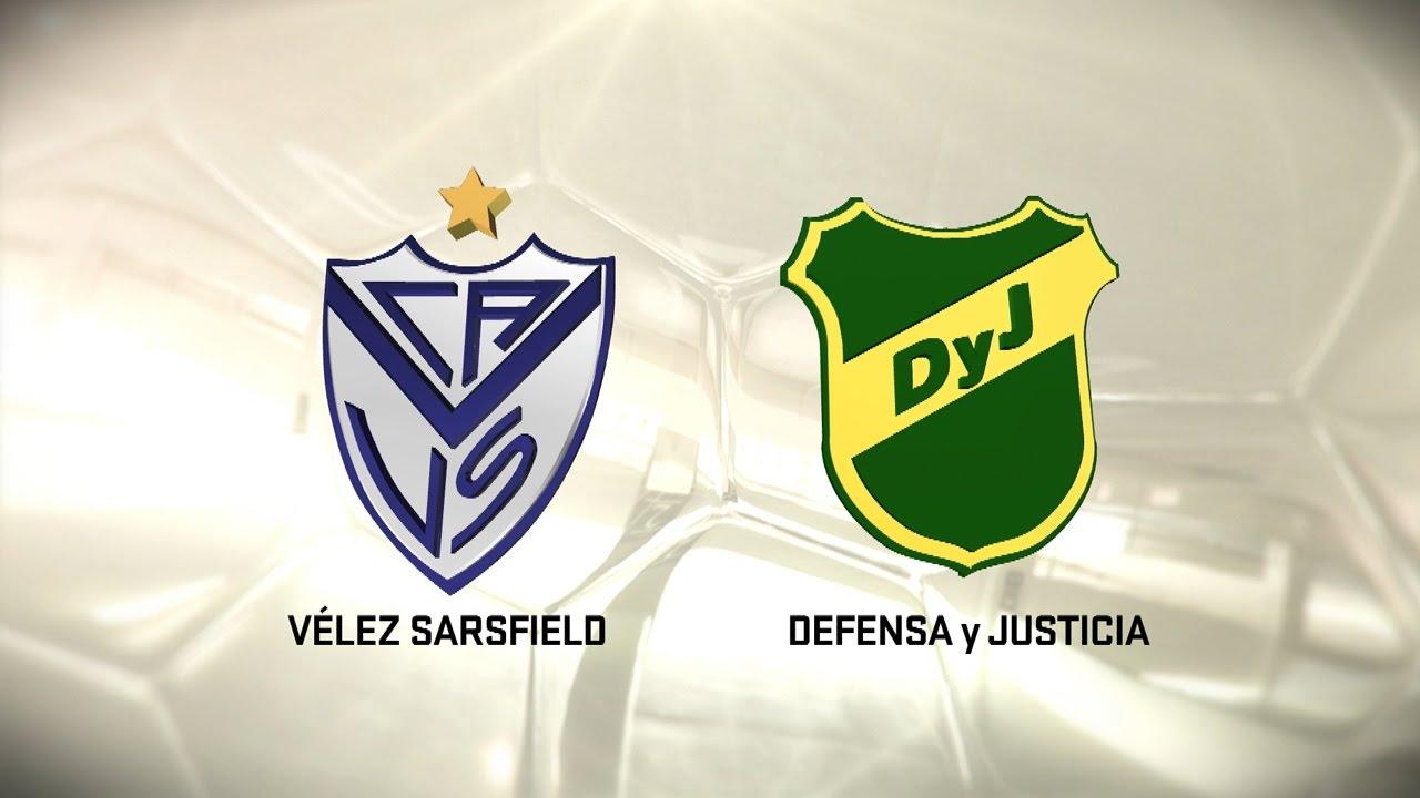 Fútbol En Vivo Vélez Vs Defensa Y Justicia Fecha 10