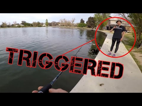 Fisherman Vs Activist | Fishing | Albert Park Lake | Australia