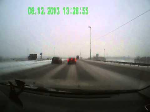 Авария на Симферопольском шоссе.