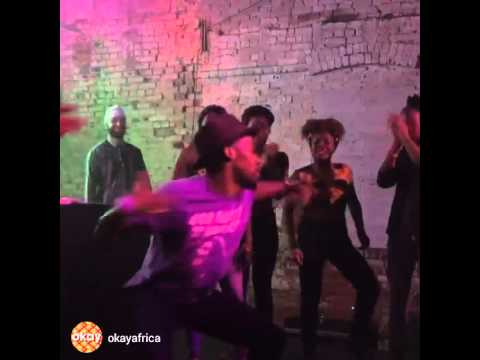"""Jerijah West Dancing Red Bull Music Academy's """"Electronic Africa"""""""