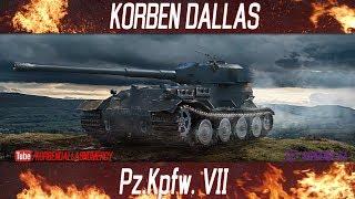 korben Dallas-13 МЕСТО-Pz.Kpfw. VII-ГАЙДЫ ПО ТЯЖЕЛЫМ ТАНКАМ