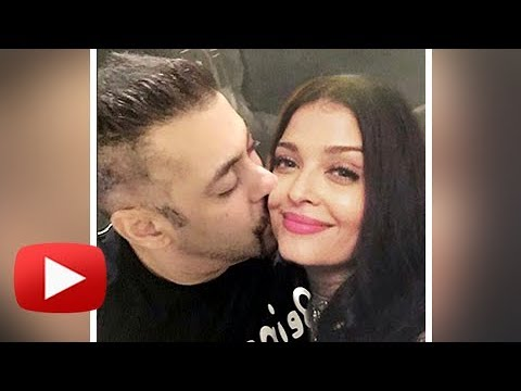 Salman Khan Kisses Aishwarya Rai | Both Are Together - PROOF