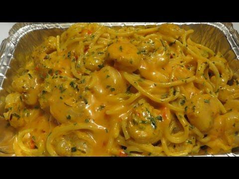 Easy Spicy Bang Bang Shrimp & Pasta - The  Full Video .