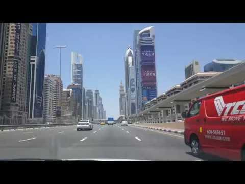 A Drive from Abu Dhabi to Dubai