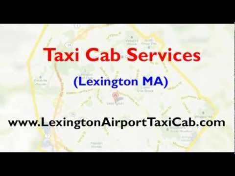 Lexington MA taxi cab service   Airport car rental services