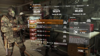SLY_420 | The Division | How to build a PVE Strikers build (Revised) | Road to 50 subs