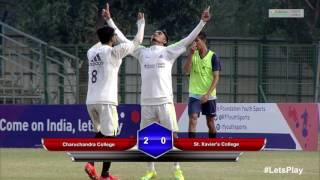 RFYS: Kolkata College Boys - Charuchandra College vs St. Xavier's College Highlights