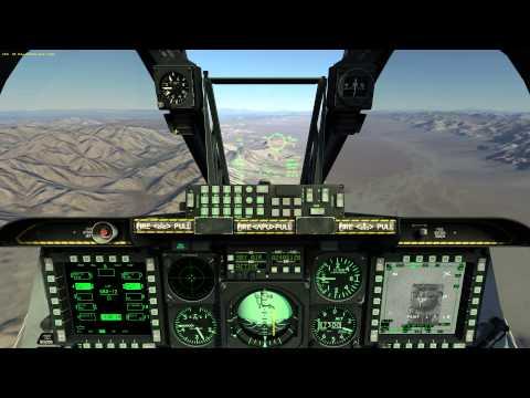 DCS World 2 - A-10C Warthog - Nevada Shooting Practice