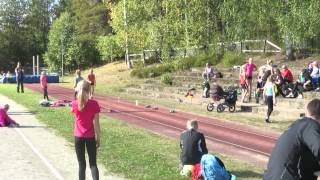 Pyhäselän heittohyppypäivät 6.9.2014, Karla Könönen pituus