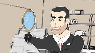 Los ITALIANOS Y REDBULL EN la OFICINA - CS GO dibujos animados Ep 7
