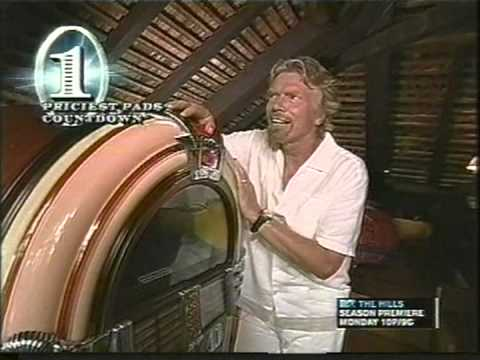 RICHARD BRANSON - ISLAND - MTV CRIBS