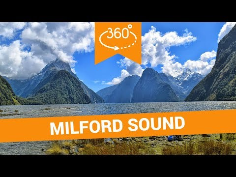 Things to Do in Milford Sound in 360 - New Zealand VR