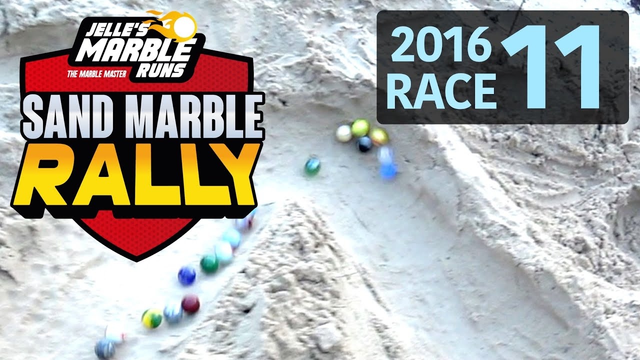 Sand Marble Rally 2016 Race 11 (Very Long) - Jelle's Marble Runs