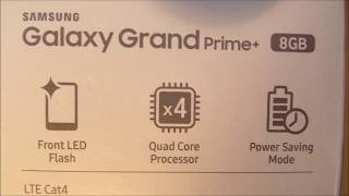 Unboxing Samsung Galaxy Grand Prime Plus Gold Color