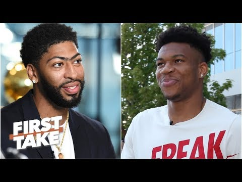 Giannis or Anthony Davis: Who is the best active NBA player without a ring? | First Take