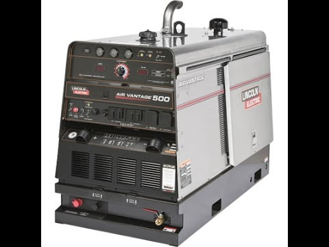 Lincoln Electric Air Vantage 500 Multiprocess Dc Welder Ac