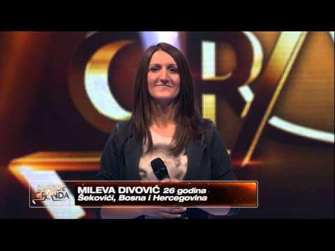 Mileva Divovic - Evo zima ce (live) - ZG 2014/15 - 08.11.2014. EM 8.