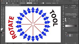 How to Use the Rotate Tool in Adobe Illustrator