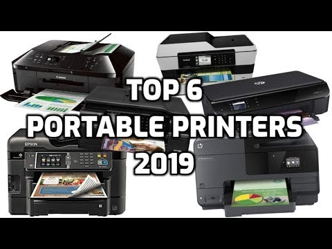 Top 6 Portable Wireless Printers In 2019 (Compact All-in-One)