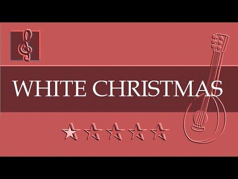 Mandolin & Guitar Duet - Christmas song - White Christmas (Sheet Music - Guitar Chords)